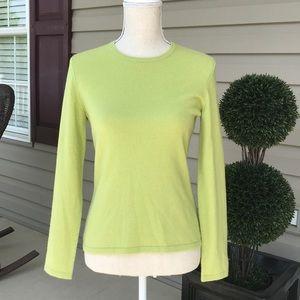 Lands' End cashmere sweater
